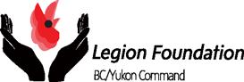 BC/Yukon Command Legion Foundation Logo